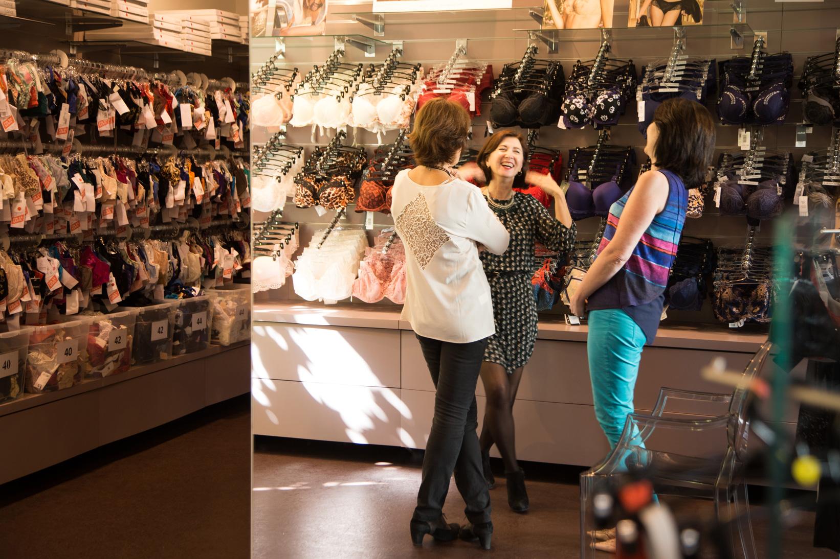Cathy carbonne coaching lingerie boutique