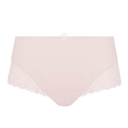 packshot culotte contrôle simone pérèle en coloris poudre rose collection délice
