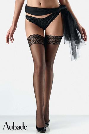 bar noir aubade de la collection permanente bahia en coton matière tissus lingerie