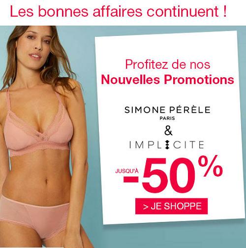 Promotions Simone Pérèle