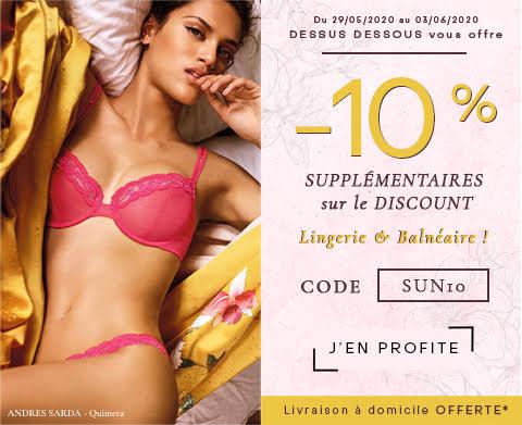 Promotion sur la nouvelle lingerie
