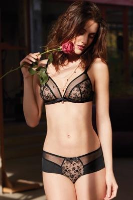 Fleurs Sauvages noir
