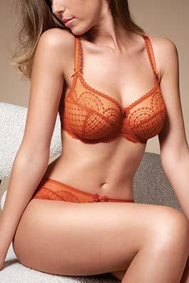 Norah orange cuivré