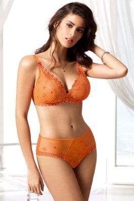 Tendre Gothique orange gothique