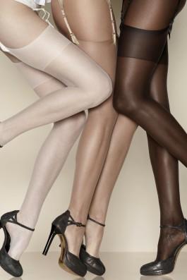 Bas peau bronzée