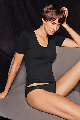 Cotton Seamless noir
