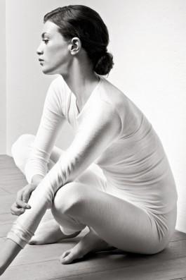 Woolen Silk ivoire