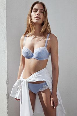 Paloma retro blue