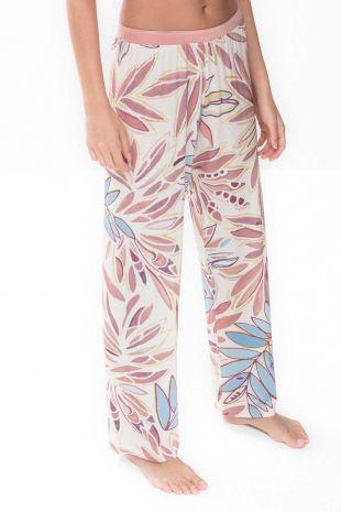 pantalon Emila pale blush imprimé 01
