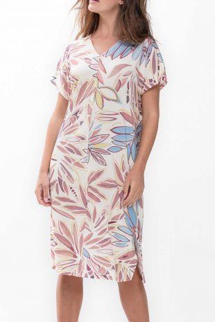 robe d-intérieur Emila pale blush imprimé 01