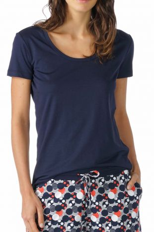 tee-shirt manches courtes Demi night blue 01