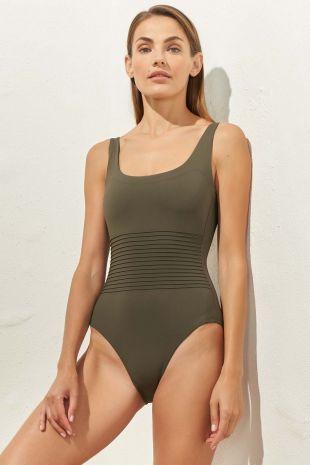 maillot de bain une pièce nageur séduction Softline Avocado 01