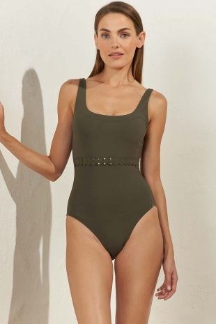 maillot de bain une pièce nageur Softline Avocado 01