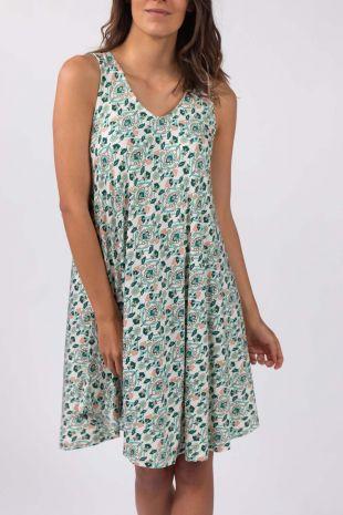 robe de plage sans manches Lipsy Atoll imprimé 01