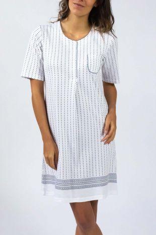 chemise de nuit Sally Stone imprimé 01