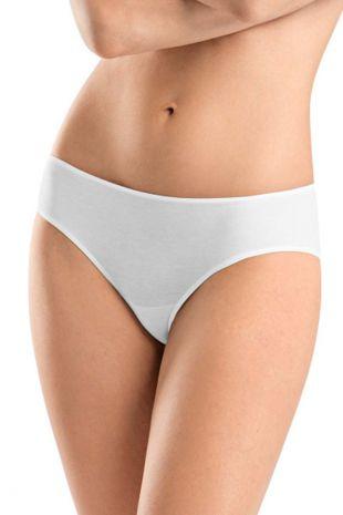 culotte midi  Hanro Sea Island Cotton blanc 071251 1