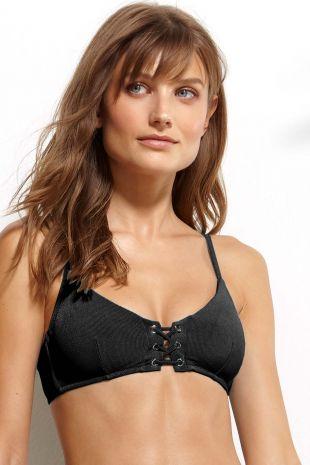 haut de maillot de bain rembourré Watercult Summer Solids deep-black noir 7098-103 1