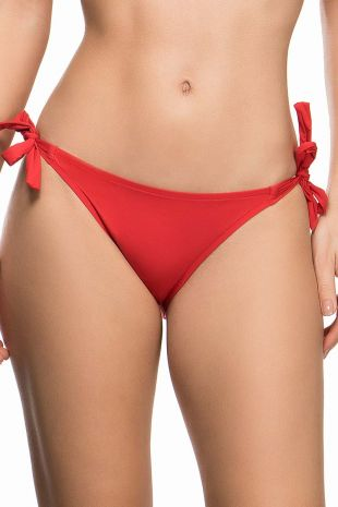 slip de bain bikini Ajourage Couture ajourage carmin 01