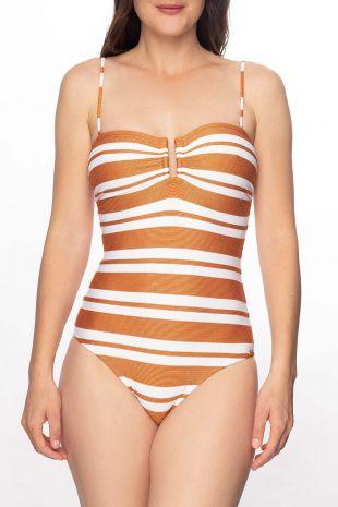maillot de bain une pièce séduction Copernica White-copper 01