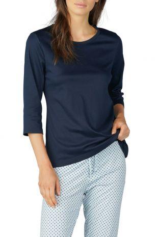 pyjama Mey Sonja night blue imprimé imprimé 13954 1