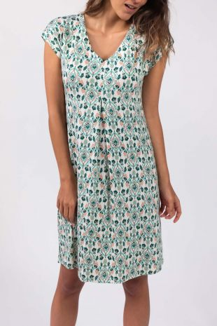 robe de plage Lipsy Atoll imprimé 01