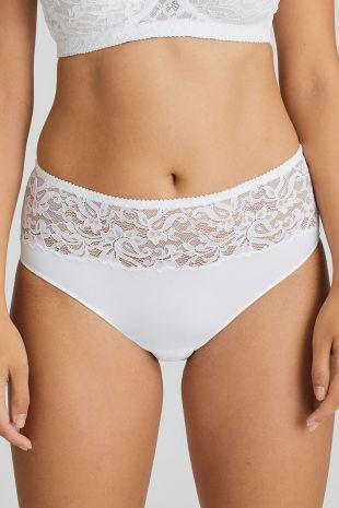 slip taille haute Magnolia white 01