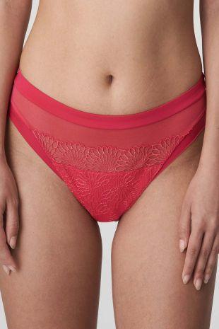 slip brésilien Prima Donna Sophora raspberry rouge 0563180 1