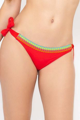 slip de bain bikini Antigel de Lise Charmel La Santa Antigel santa rouge rouge EBA0102 1