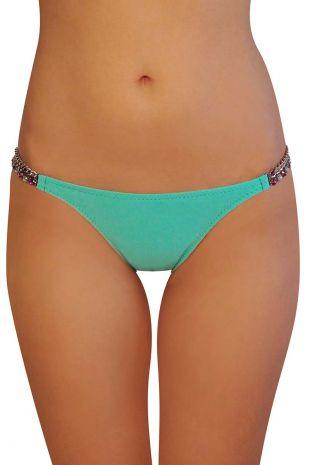 slip de bain bikini Seloua Pain De Sucre Délicieux Sensitive Uni Life green bleu MO614354 1