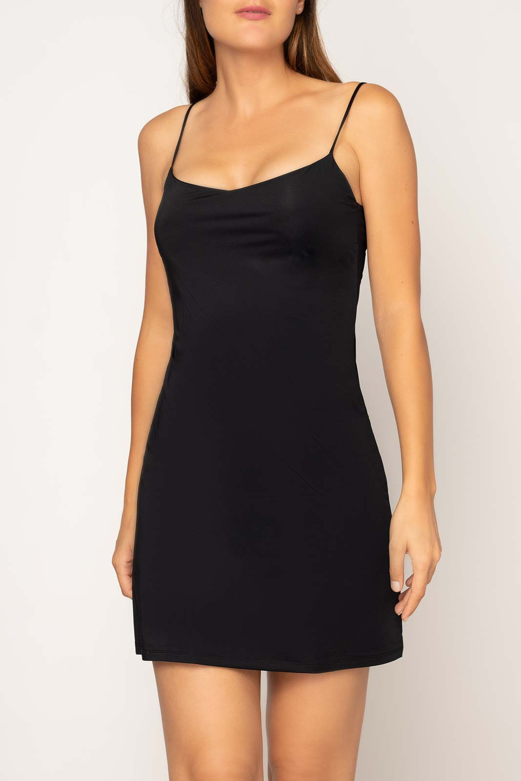 Fond de robe Maille Noir - Dessus Dessous_Affiliate - Modalova